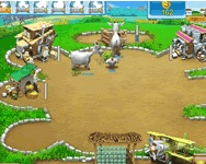 Online Farm Frenzy pizza party j�t�k